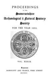 Proceedings: Volumes 39-40
