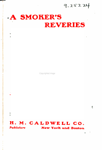 A Smoker's Reveries