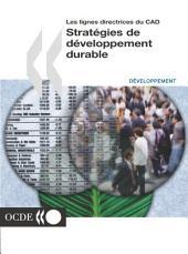 Les lignes directrices du CAD Stratégies de développement durable