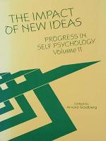 Progress in Self Psychology, V. 11