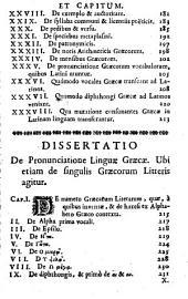 Jacobi Gretseri,... Institutiones linguae graecae