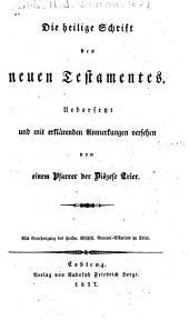 Die Heilige Schrift des Neuen Testamentes