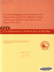 Revised Stratigraphy and Correlations of the Niagaran Provincial Series  Medina  Clinton  and Lockport Groups  in the Type Area of Western New York PDF