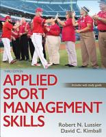Applied Sport Management Skills PDF