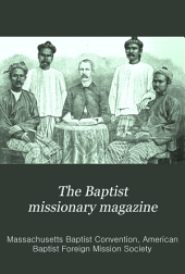 The Baptist Missionary Magazine: Volumes 73-74