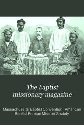 The Baptist Missionary Magazine: Volumes 73-74