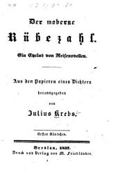 Der moderne rübezahl: ein cyclus von reisenovellen ...