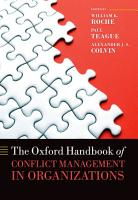 The Oxford Handbook of Conflict Management in Organizations PDF