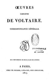 Oeuvres complètes de Voltaire: Volume14
