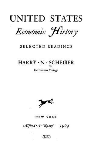 United States Economic History