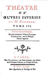Théâtre et œuvres diverses: Suite des Opera-Comiques