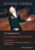 A Companion to Contemporary French Cinema PDF