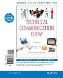 Technical Communication Today  Books a la Carte Edition PDF