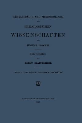 Enzyklop  die und Methodologie der philologischen Wissenschaften PDF