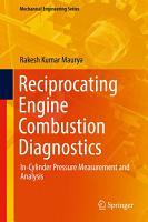 Reciprocating Engine Combustion Diagnostics PDF