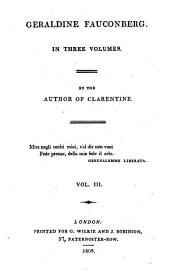 Geraldine Fauconberg, by the author of Clarentine