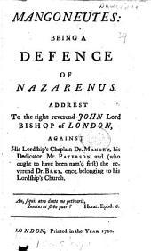 Mangoneutes: being a defence of Nazarenus