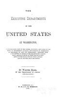 The Executive Departments of the United States at Washington PDF