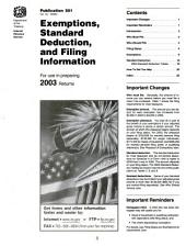 IRS tax information publications: Issue 1