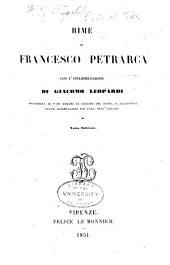 Rime di Francesco Petrarca