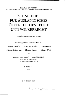 Heidelberg journal of international law PDF
