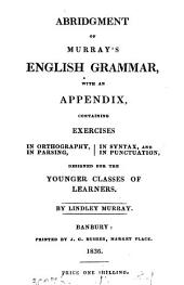 Abridgment of Murray's English grammar. From the 30th Engl