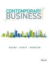 Contemporary Business, 17th Edition: Edition 17