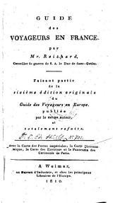 Guide des voyageurs en France