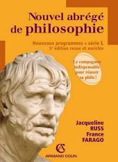 Nouvel abrégé de philosophie: Série L