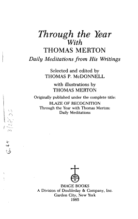 Through the Year with Thomas Merton PDF