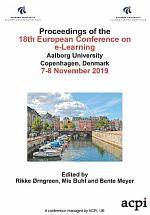 ECEL 2019 18th European Conference on e-Learning