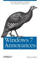Windows 7 Annoyances PDF