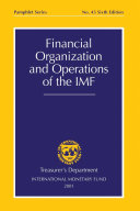 Financial Organization and Operations of the IMF (EPub)