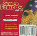 Holt Call To Freedom Book