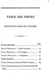 Messéniennes et poesies nouvelles