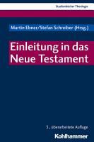 Einleitung in das Neue Testament PDF