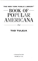 Book of Popular Americana PDF