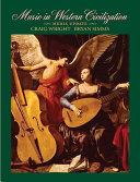 Music in Western Civilization Book
