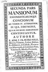 Mansiones encomiasticae adaptatae quadraginta duobus: iuxta Evangelium Matthaei progenitoribus Christi Domini, ad quas mansiones praecedit Tractatus Isagogicus... : tomus quartus