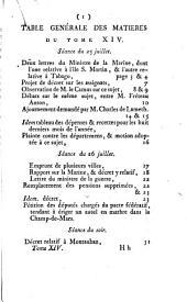 Journal des Et́ats généraux, convoqués par Louis XVI.: Volume14