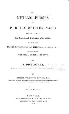 The Metamorphoses of Publius Ovidius Naso PDF