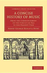 A Concise History Of Music Book PDF