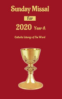 Sunday Missal For 2020 Year A