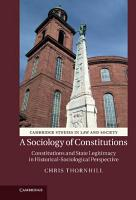 A Sociology of Constitutions PDF