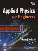 Applied Physics for Engineers PDF