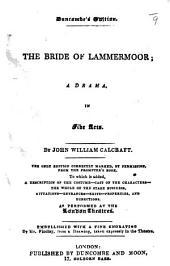 The Bride of Lammermoor, etc