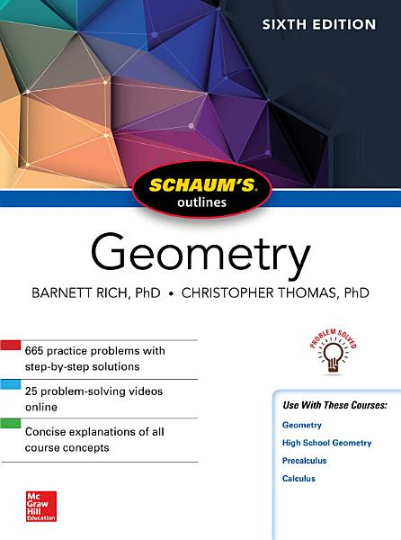 Schaum s Outline of Geometry  Sixth Edition PDF