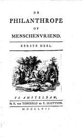 De philanthrope of menschenvriend: (6 okt.1756)