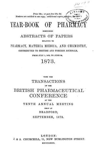 Download Year book of Pharmacy Book