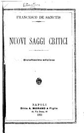 Nuovi saggi critici